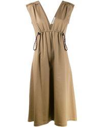 Golden Goose Deluxe Brand ドローストリング ドレス - ナチュラル