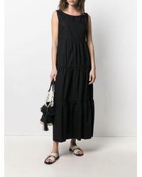 Woolrich ティアード ドレス - ブラック