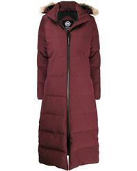 Canada Goose Пальто-пуховик Mystique - Красный