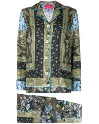 F.R.S For Restless Sleepers - Poseidone Printed Suit - Lyst