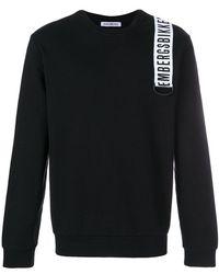 Dirk Bikkembergs - Logo Patch Zipped Sweatshirt - Lyst
