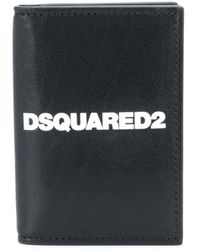 DSquared² Картхолдер С Логотипом - Черный