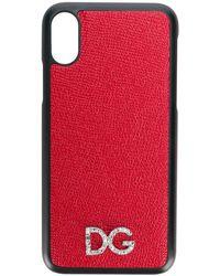 Dolce & Gabbana - ロゴ Iphone X カバー - Lyst