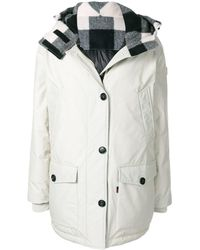 Woolrich - Padded Hooded Parka - Lyst