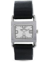 Hermès Orologio Barenia 25mm 1990 Pre-owned - Bianco