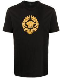 Versace - Футболка С Вышивкой Medusa - Lyst