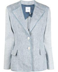 Agnona シングルジャケット - ブルー