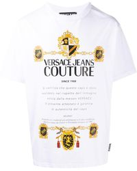 Versace Jeans Couture - Футболка С Логотипом - Lyst