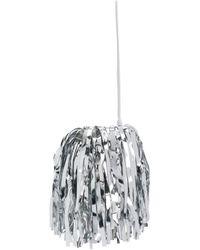Off-White c/o Virgil Abloh Fringed Bucket Bag - Metallic