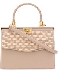 Rodo - Woven Flap Tote - Lyst