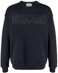 Moschino オーバーサイズ スウェットシャツ - ブルー