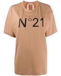 N°21 - オーバーサイズ Tシャツ - Lyst
