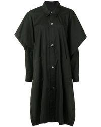 Yohji Yamamoto オーバーサイズ シャツ - ブラック