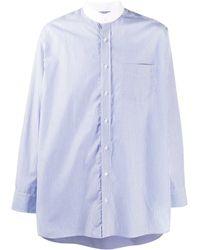 Mackintosh ストライプ シャツ - ブルー