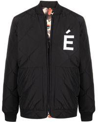Etudes Studio リバーシブル ボンバージャケット - ブラック