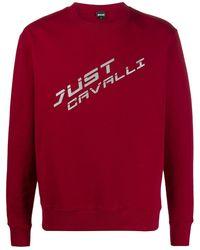 Just Cavalli - ロゴ スウェットシャツ - Lyst