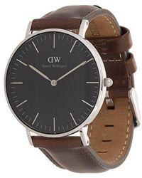 Daniel Wellington - Classic Black Bristol Watch - Lyst