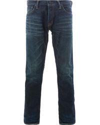 Mastercraft Union Perfectly Fittred Straight Leg Jeans - Blue