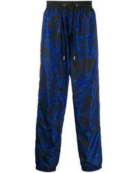 Versace Jeans - バロックプリント トラックパンツ - Lyst