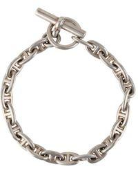 Hermès Bracciale Chaine D'Ancre 22 cm - Metallizzato