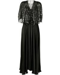 Paco Rabanne スパンコール ドレス - ブラック