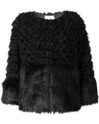 L'Autre Chose - Faux Fur Jacket - Lyst