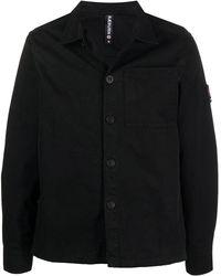 Raeburn Laundered オーバーシャツ - ブラック