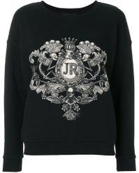 John Richmond - Logo Patch Sweatshirt - Lyst
