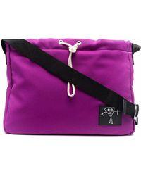 Plan C Granite Shoulder Bag - Purple