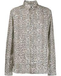 Roberto Cavalli Рубашка С Анималистичным Принтом - Многоцветный