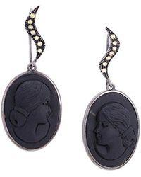 Amedeo - Slate Earrings - Lyst