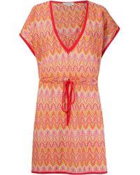 Brigitte Bardot - Knit Beach Dress - Lyst