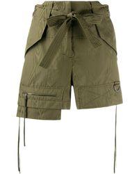 Dorothee Schumacher Sporty Elegance Layered Shorts - グリーン