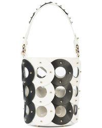 Sara Battaglia - Zoe Circle Bucket Bag - Lyst