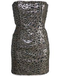 Haney Naomi Dress - Metallic