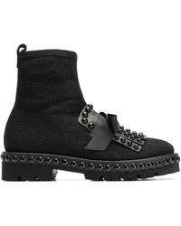 Kennel & Schmenger - Round Studded Boots - Lyst