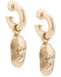 Ellery - Face Shaped Earrings - Lyst
