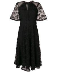 Temperley London - Haze Lace Sleeved Dress - Lyst