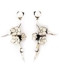 Shaun Leane - 'cherry Blossom' Diamond Earrings - Lyst