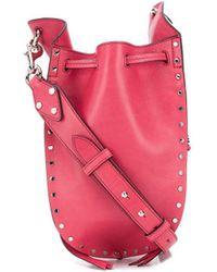 Isabel Marant Radja Satchel Bag - Red