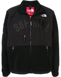 Supreme X The North Face Fleece Jacket - Black