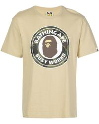 A Bathing Ape - 1st Camo Busy Works Tシャツ - Lyst