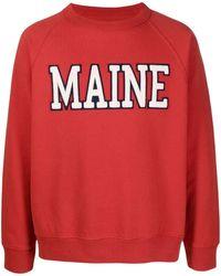 Sebago Flocked Sweatshirt - Red