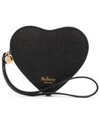 Mulberry Кошелек Valentine's Heart - Черный