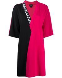 Just Cavalli - カラーブロック ドレス - Lyst