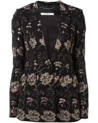 Givenchy - Floral Embroidered Blazer - Lyst