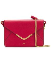 Anya Hindmarch Sac porté épaule Postbox - Rouge