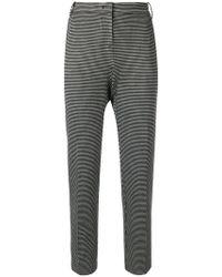 Pinko - Slim Fit Trousers - Lyst