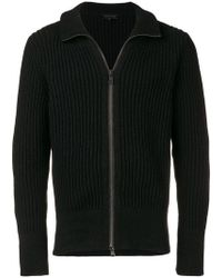 Ann Demeulemeester Grise - Zip-up Cardigan - Lyst