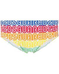 DSquared² - Slip à logo imprimé - Lyst